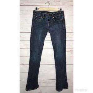 American Eagle jeans size 6 Skinny Kick Long